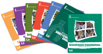 Photo of GreenSchools books