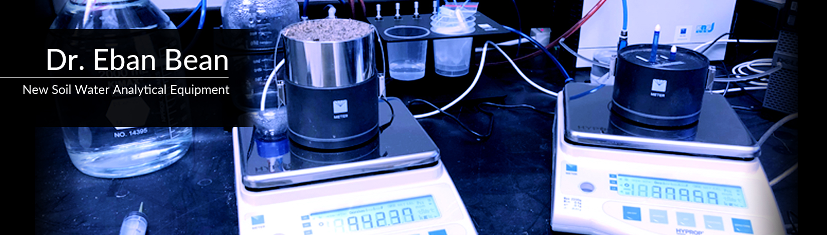 New Soil Water Analytical Equipment